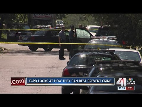 KCPD looks at how they can best prevent crime