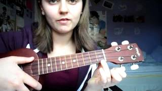 I'll be there fore you Ukulele tutorial strumming