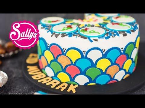 Ramadan Torte / orientalische Motivtorte / Eid Mubarak / Sallys Welt