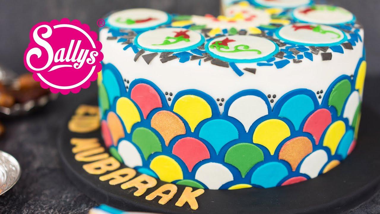 Ramadan Torte  orientalische Motivtorte  Eid Mubarak