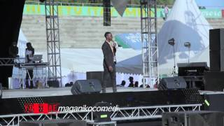 MAGANIKO COMEDIAN AKIMUIGIZA RAISI MAGUFULI IN JEMBEKA FESTIVAL 2016 CCM MWANZA KIRUMBA