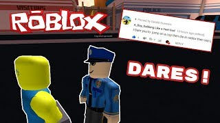 THIS IS GETTING CRAZY! l Roblox Dares