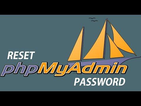 Cara Reset Password Root Phpmyadmin