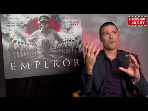 Matthew Fox Interview on Emperor & Star Wars Episode 7
