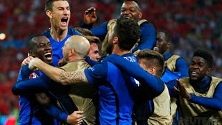 Prancis vs Islandia EURO 2016 all goals