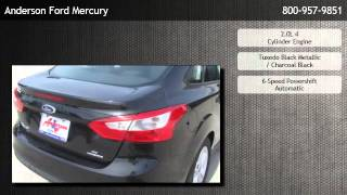 2014 Ford Focus Sedan SE Automatic Transmission Sirius  - Plum Grove