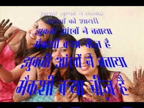 hoshwaalon ko khabar kya - karaoke by Nishi Sharma