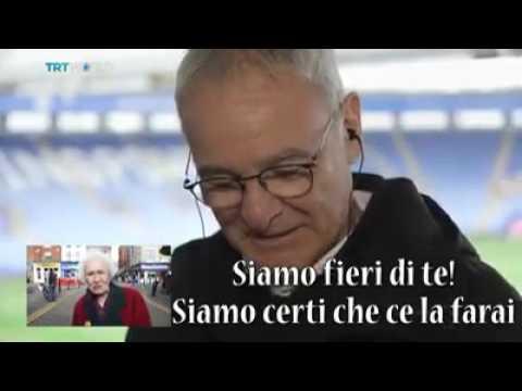 VIDEO - I tifosi del Leicester ringraziano Claudio Ranieri, la reazione del mister