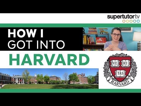 How I Got Into Harvard: College Admission Tips!!!