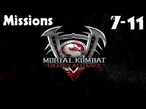 Mortal Kombat: Deadly Alliance - Konquest Walkthrough - Missions 7-11
