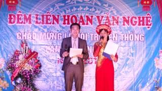 Liên hoan văn nghệ chào mừng lễ hội truyền thống làng Thượng Hiệp 2014  (P1) (HD)