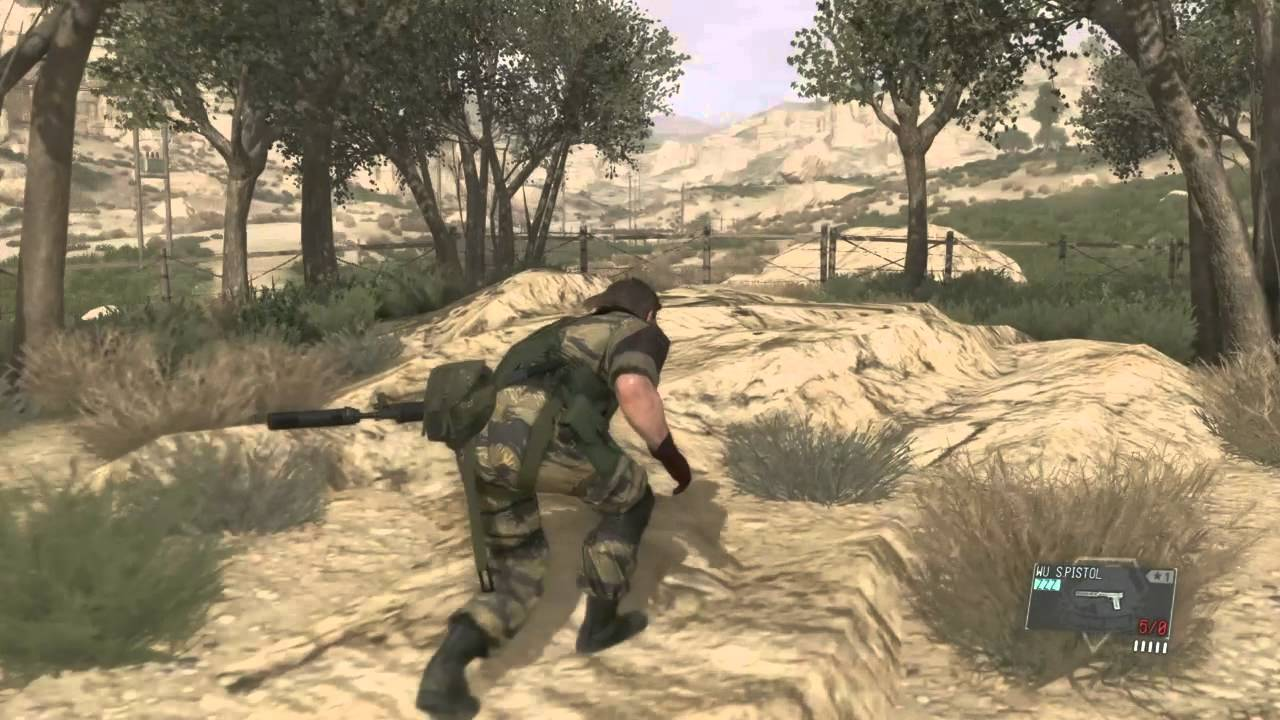 Mgs V Extract The Little Lost Sheep Youtube