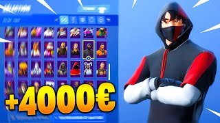 Here's my FORTNITE CASIER at '4000'.. (all my skins)