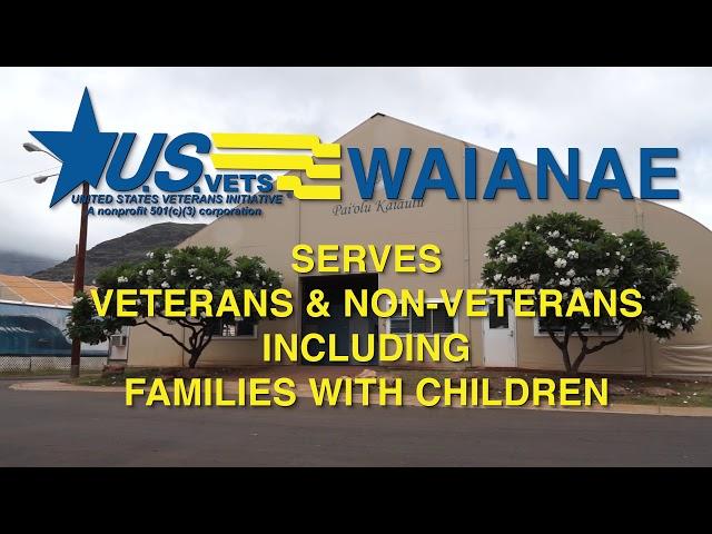 Welcome to U.S.VETS - Waianae
