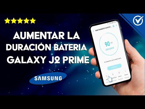 Cómo Aumentar la Duración de la Batería del Samsung Galaxy J2 Prime