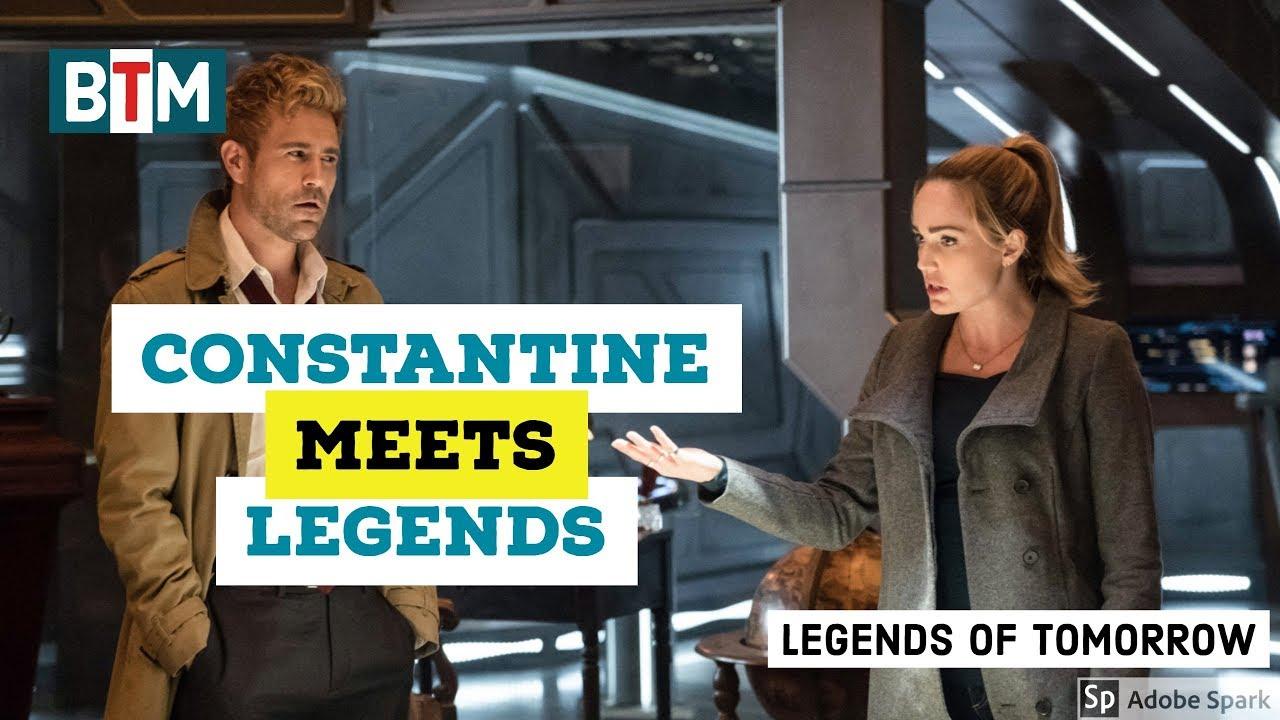 "Download Legends of Tomorrow Season 3 Episode 10 - Constantine Meets Legends ""Daddy Darhkest"" (HD)"