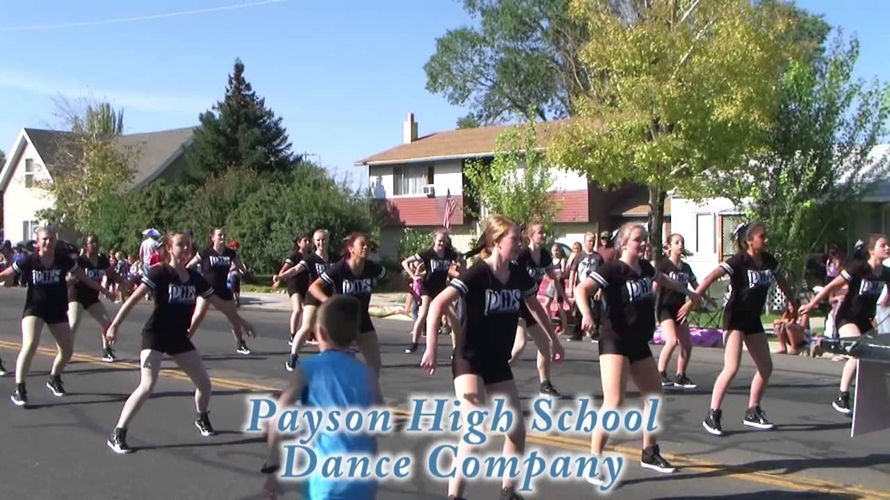 Payson City Onion Days Parade - Payson High School Dance Company 12