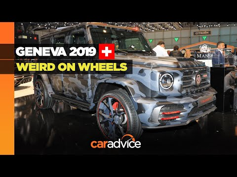 Geneva 2019: Weird on wheels!