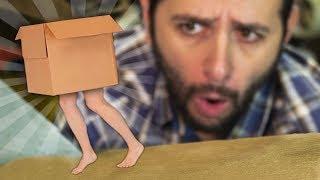 Como fazer uma caixa que anda sozinha