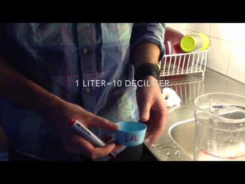 Liter och deciliter