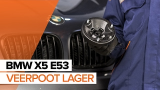 Hoe een veerpoot lager vervangen op een BMW X5 E53 HANDLEIDING | AUTODOC
