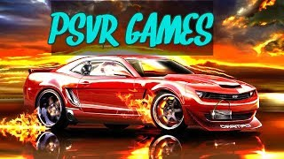 New BEST PlayStation VR Games this month 2018   PS4 PSVR Games VR 2018 🍅🎮