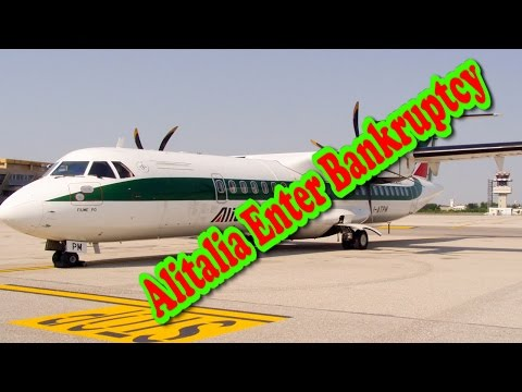 Alitalia to enter bankruptcy proceedings∥ Alitalia to enter bankruptcy∥ Top News