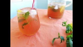 Şeftalili ve Limonlu Buzlu Çay - Ice Tea