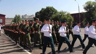 Присяга ПАИИ, Пенза, 09 августа 2014, Торжественный марш с песней