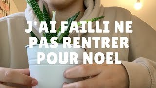 ASMR FR STORYTIME  :  MON RETOUR PERILLEUX EN FRANCE POUR NOEL (whispering + tapping)