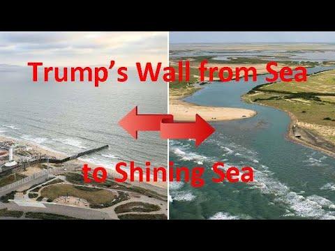 Trump S Wall From Sea To Shining Sea Youtube