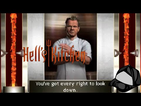 Gordon Ramsay Is So Mean! - Hell's Kitchen DS - 24 Charity Stream Part 15