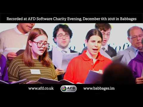 Flash Mob for AFD Software Charity Evening - 6th December 2018