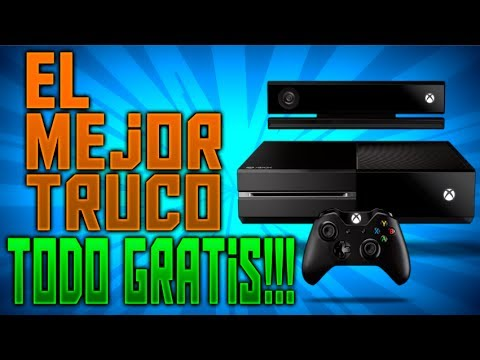 El Mejor Truco Para Xbox One Todo Totalmente Gratis Juegos
