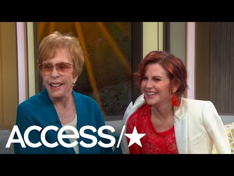 Megan Mullally Surprises Her Idol Carol Burnett On Access Live!  Access