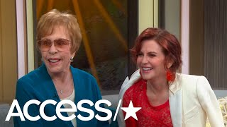 Megan Mullally Surprises Her Idol Carol Burnett On Access Live! | Access
