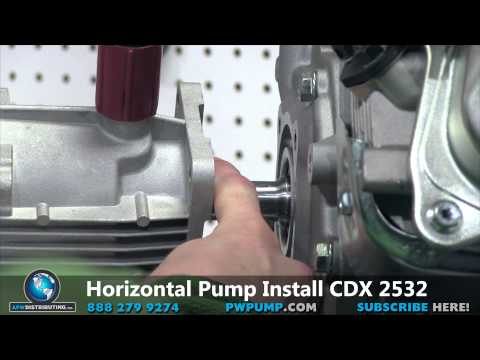 How To Install A Horizontal Pump To Your Pressure Washer
