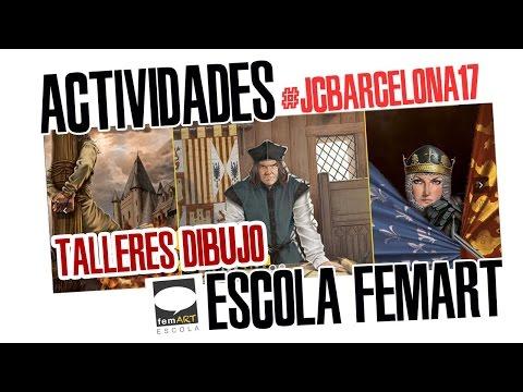 #JCBARCELONA17: TALLER DE DIBUJO DE CÓMIC / Escola FemArt