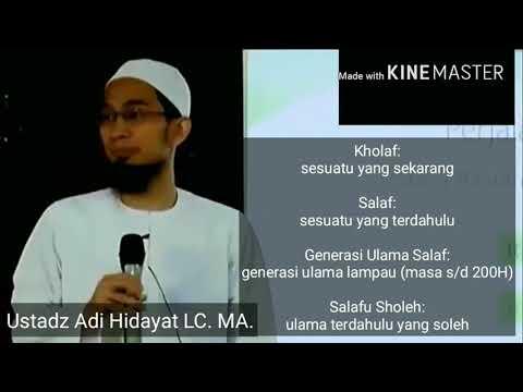 Syiah, Sunni dan Salafi Wahabi (Siapa mereka?)