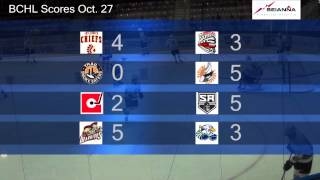 BCHL Central: Week 7 in the British Columbia Hockey League