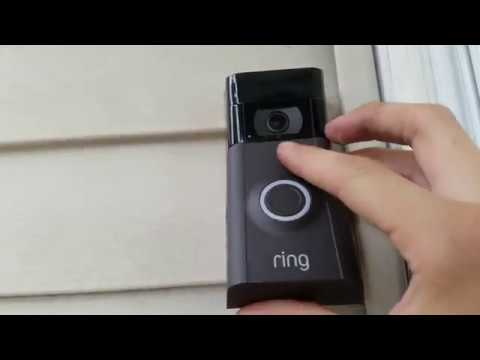 How To Remove Cover On Ring Doorbell 2 Youtube