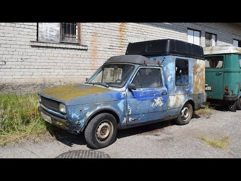 Starting Fiat 127 Fiorino After 15 Years + Test Drive