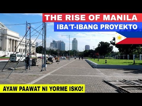 Ang Muling Pagbangon ng Lungsod ng Maynila sa ilalim ng pamumuno ni Mayor Isko