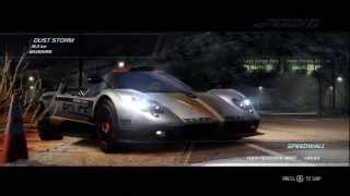 Need For Speed: Hot Pursuit | Pagani Zonda Cinque Cop Gameplay [Xbox 360 | PS3 | PC] [HD]