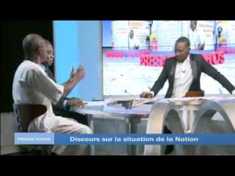 PRESSE ECHOS: Discours de Kaba Thiéba - Fonds communs - Tchad
