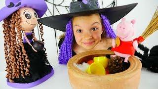 Принцесса Свинка Пеппа - Маленькая Ведьмочка Кати - Мультики для девочек