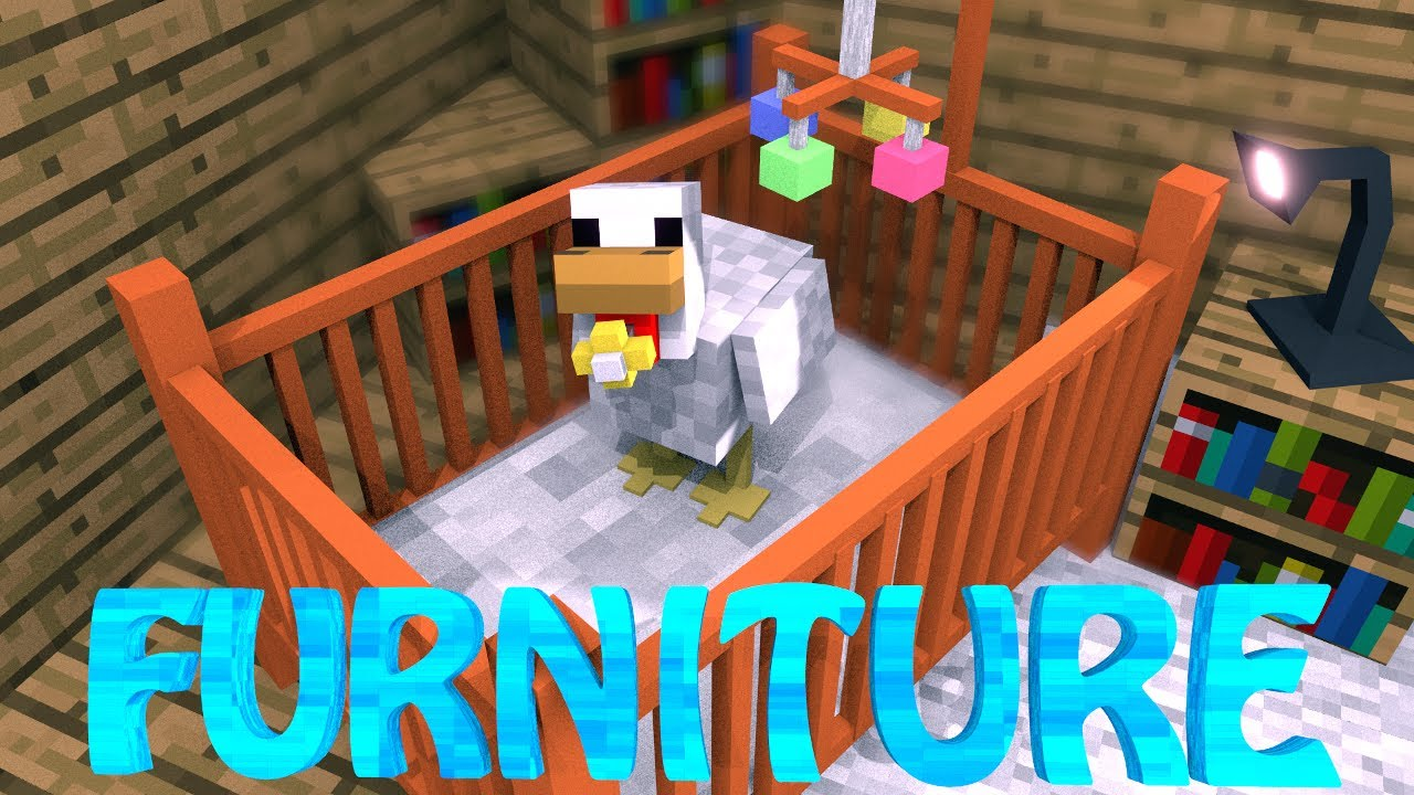 Ideal FURNITURE MOD Minecraft DecoCraft Mod Showcase FURNITURE IN MINECRAFT YouTube