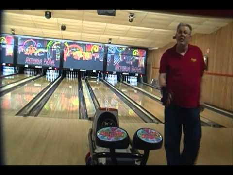 Using The Storm Lock On The 47 Foot Scorpion Sport Bowling Pattern
