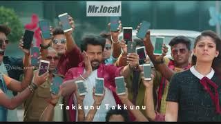 Takkunu Takkunu pakkatha❤️🎶 Mr local movie whatsapp status
