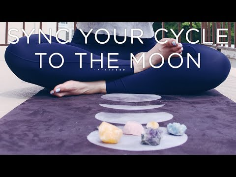How I Synced My Cycle To The Moon | No Cramps, Heavy Flow, or PMS #LivAndLearnARMY
